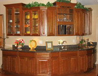 Vons Cabinets Is Pleased To Offer Wood Cabinets Made From Natural Hardwood  Products Such As, Knotty Pine, Oak, Beech, Alder, Maple, Cherry, Hickory,  ...